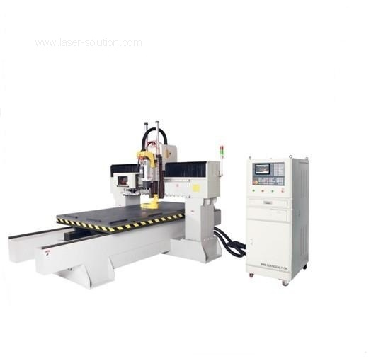 Wood CNC router Machine with ATC